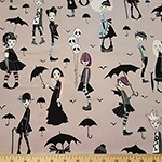 Going Goth Teens Fabric Taupe