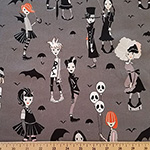 Going Goth Teens Fabric Charcoal