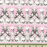 Knifty Knit Regent Skull Pink Fabric