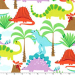 Land of the Lost Dinosaur Fabric