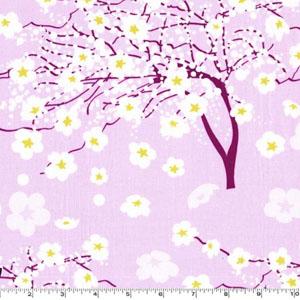 Breeze Blossom Iris Fabric