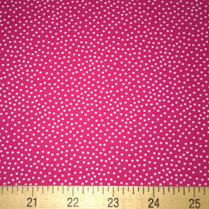 Garden Pindot Jewel Pink Fabric