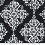 Linda Lace Black Fabric