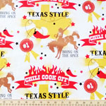 Cookin' Outdoors Texas Style Fabric