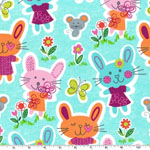 Some Bunny Loves You Fabric