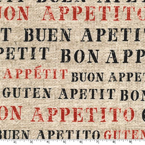 Good Appetite Fabric