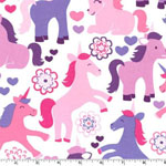 Magic Unicorns Fabric