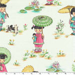 China Doll Cream Fabric