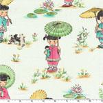 China Doll Cream Fabric