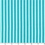 Clown Stripe Luna Blue Fabric