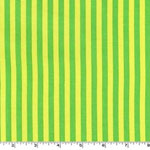 Clown Stripe Mint Green Stripes Fabric