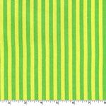 Clown Stripe Mint Green Stripes Fabric