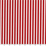 Clown Stripe Red Fabric