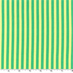 Clown Stripe Sprout Green Fabric