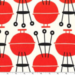 Cookin' Outdoors On the Grill Fabric