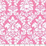 Dandy Damask Candy Pink Fabric