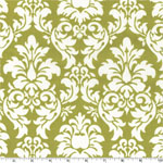 Dandy Damask Avocado Fabric