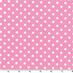 Dumb Dot Candy Pink Fabric