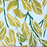 Climbing Vines Olive Fabric