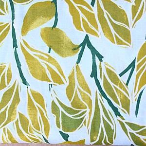 Climbing Vines Olive Fabric