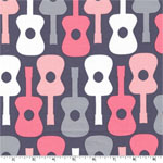 Groovy Guitar Bloom Fabric
