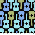 Groovy Guitar Boy Fabric