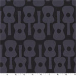 Groovy Guitar Gray Fabric