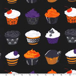 Goth Cupcakes Fabric