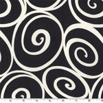 Ironworks Ebony Fabric