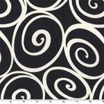 Ironworks Ebony Fabric