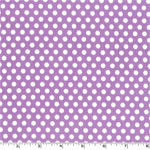 Kiss Dot Purple Fabric