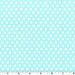 Kiss Dot Aqua Fabric