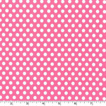 Kiss Dot Blossom Pink Fabric