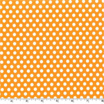 Kiss Dot Orange Fabric
