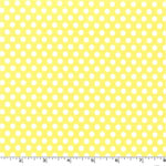 Kiss Dot Yellow Fabric