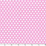 Kiss Dot Pink Fabric
