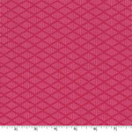 Nordic Diamond Jersey Knit Pink Knit Fabric