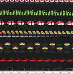 Conveyor Sushi Lacquer Black Fabric