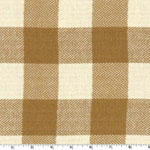Organic Cotton Herringbone Tan Fabric
