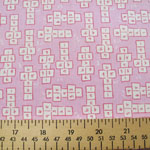 Back-to-School Hopscotch Lilac Fabric
