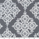 Linda Lace Gray Fabric
