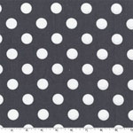 Quarter Dot Gray Fabric