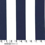 Cotton Couture Two by Two Stripes Midnight Fabric