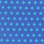 Firefly Turquoise Stars on Blue Fabric