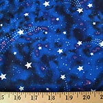 Glow in the Dark Star Magic Nite Fabric