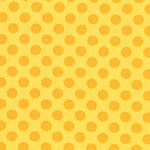 Ta Dot Sunny Yellow Fabric