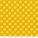 Ta Dot Mustard Yellow Fabric