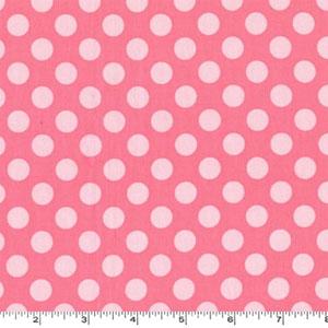 Ta Dot Petal Pink Fabric