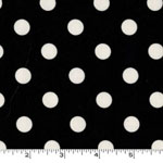 That's It Dot Black Fabric