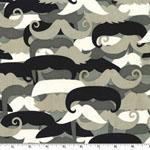 Urbanista Mustachioed Man Fabric